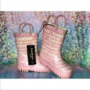 bebe Shoes - NWT- Bebe Girls-  rain boots